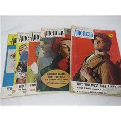 AMERICAN MAGAZINES (1943)