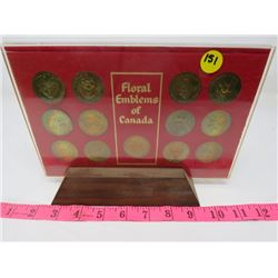 SHELL FLORAL TOKENS