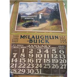 CALENDAR (MCLAUGHLIN BUICK) *1923*
