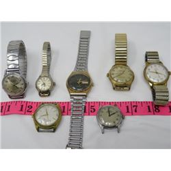 LOT OF ASSORTED WATCHES
