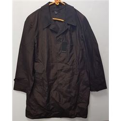 DESIGNER JACKET (RIVIERA MILANO, ITALY) *BROWN, REVERSABLE, SIZE L*