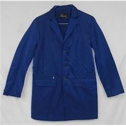 DESIGNER JACKET WITH VEST (RIVIERA MILANO, ITALY) *BLUE, REVERSABLE, SIZE M*