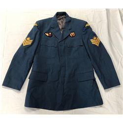 ROYAL CANADIAN AIR FORCE SERGEANTS JACKET, LARGE