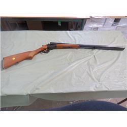 DOUBLE BARREL SHOTGUN (NO MANUFACTURER NAME VISIBLE-NK58MA, USSR) *28 1/2 INCH BARREL-12 GAUGE*