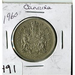 CANADIAN 50 CENT PIECE (1960)