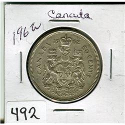 CANADIAN 50 CENT PIECE (1962)