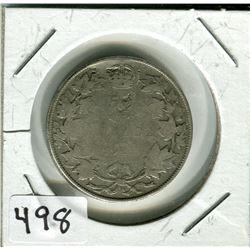 CANADIAN 50 CENT PIECE