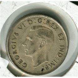 CANADIAN 50 CENT PIECE (1944)