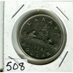 CANADIAN DOLLAR COIN (1968)