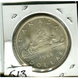 CANADIAN DOLLAR COIN (1966)