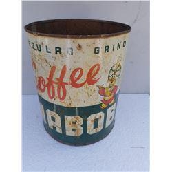 NABOB COFFEE CAN (1 GALLON)