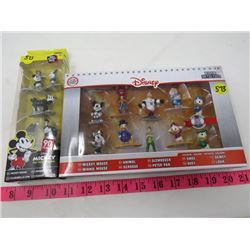 NEW DISNEY METAL FIGS (90 YEARS) *2 PIECES*