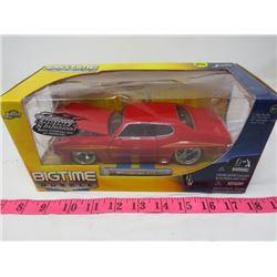 DIECAST MODEL ( 1971 PONTIAC GTO) *1:24 SCALE*