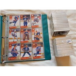LOT OF HOCKEY CARDS ( 90 OILERS CARDS AND 2 SEALED HOCKEY CARD SETS)