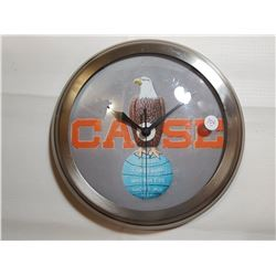 CASE EAGLE BATTERY CLOCK