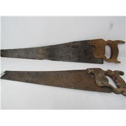 LOT OF 2 SAWS