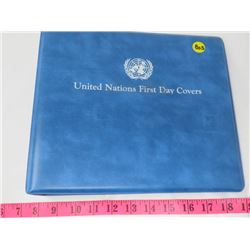 UNITED NATIONS FIRST DAY COVERS (ALBUM ONLY)