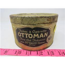 OTTOMAN FINE CUT TOBACCO TINS (ROCK CITY TOBACCO COMPANY)