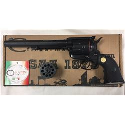 """SINGLE ACTION REVOLVER (CHIAPPA) *1973* (7.5"""" BARREL) *22LR*  *INTERCHANGEABLE 22 WIN MAG CYLINDER*"""