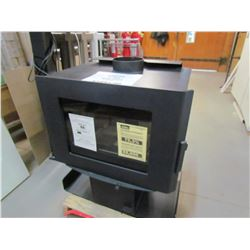 WOOD STOVE (OSBURN SOHO) *HEATS UP TO 1500 SQUARE FEET* (RETAIL: $1499.00)