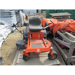 "ZERO TURN LAWNMOWER (HUSQVARNA RZ 4219) *42"" MOWER DECK, 19.0HP BRIGGS ENGINE* (SOLD AS IS)"