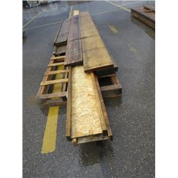 "LOT OF LUMBER (2"" X 12"") (SOME LAMINATE) *HEADERS* (VARYING LENGTHS)"