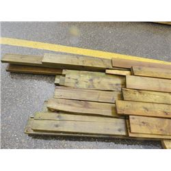 "LOT OF LUMBER (TREATED) *1"" X 6""* (2"" X 4"") *2"" X 6""* (VARYING LENGTHS)"