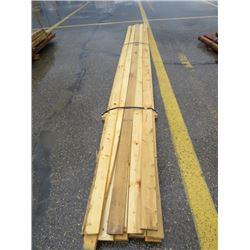 "LOT OF LUMBER (1"" X 4"") *20' LONG* (APPROX 15 PIECES)"