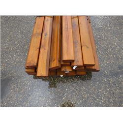 "LOT OF TREATED 2"" X 4"""