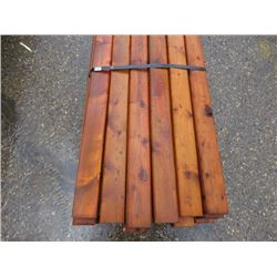 "LOT OF 2"" X 4"" (TREATED)"