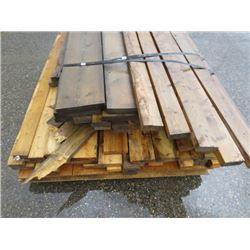 "LOT OF MISC LUMBER (2"" X 4"") *2"" X 8""*"