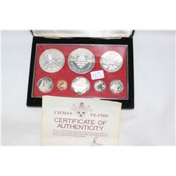 Cayman Islands - 8 Coin Proof Set (no GST)