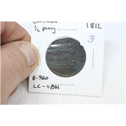 Lower Canada Half Penny Token (1)