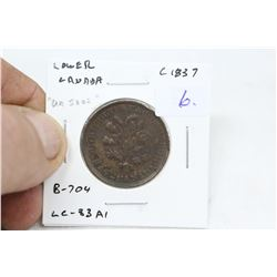"Lower Canada ""Un Sous"" Token (1)"