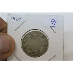 Canada Twenty-Five Cent Coin (1)