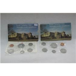 Canada Coin Sets (2)
