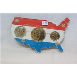 U.S.A. Bicentennial Coins (3)