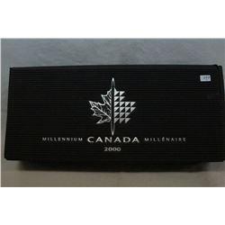 Canada Twenty-Five Cent Coins (12)