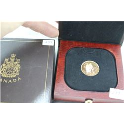 Canada One Hundred Dollar Gold Coin (1) - NO GST