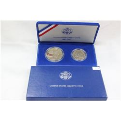 U.S.A. Liberty Set - 2 Coins