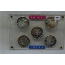 Canada Dollar Coins (5)