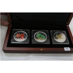 Canada Five Dollar Coins (3)
