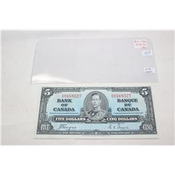 Canada Five Dollar Bill (1)