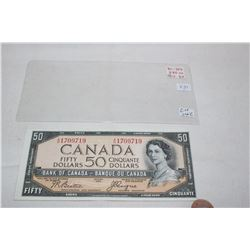 Canada Fifty Dollar Bill (1)
