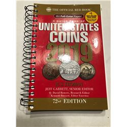 2019 US Coins Red Book Brand New