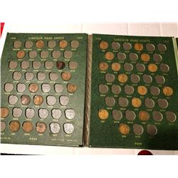 Nice Heavy Duty Lincoln Cent Book