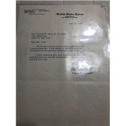 Rare 1965 Signed Robert F Kennedy Letter on US Senate Letterhead with Envelope