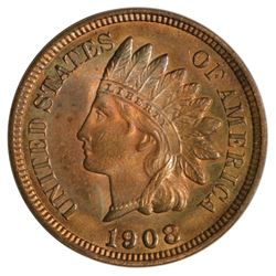 1908 Indian Cent Coin