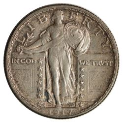 1917-D Standing Liberty Quarter Coin