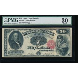 1880 $50 Legal Tender Note PMG 30